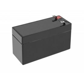 Green Cell - Green Cell 12V 1.2Ah (4.6mm) 1200mAh VRLA AGM Battery - Battery Lead-acid  - GC041