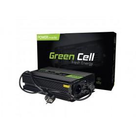 Green Cell - 600W AC 230V / DC 12V la AC 230V cu convertor convertizor de curent cu USB pentru pompe în sistemele de încălzir...