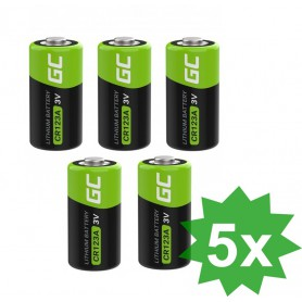 Green Cell - Green Cell CR123A 3V 1400mAh Lithium battery - Other formats - GC044-CB