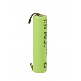 Camelion - Camelion AAA/LR03 800mAh with U-solder lips 1.2V NimH Rechargeable - Size AAA - BS375-CB www.NedRo.us