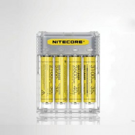 NITECORE - NITECORE Q4 4-Bay 2A Quick Battery Charger for Li-ion IMR - Battery chargers - MF004-CB