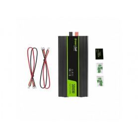 Green Cell - 6000W DC 12V to 2x AC 230V with USB Current Inverter Converter - Solar panels and wind turbines - GC034 www.NedR...