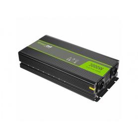 Green Cell, 6000W DC 12V la 2x 230V cu USB Convertor Inverter curent, Panouri solare și turbine eoliene, GC034, EtronixCenter...