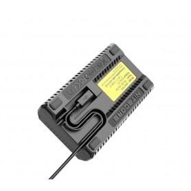 NITECORE - Nitecore USN4 Pro dubbel USB oplader voor Sony NP-FZ100 batterijen - Sony foto-video laders - MF009 www.NedRo.nl