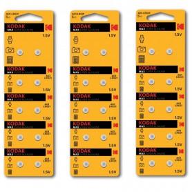 Kodak - Kodak Max Silver Oxide AG1 SR60 /364 1.5V knoopcel batterij - Knoopcellen - BS378-CB www.NedRo.nl