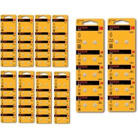 Kodak - Kodak Max Silver Oxide AG1 SR60 /364 1.5V Watch Battery - Button cells - BS378-CB www.NedRo.us