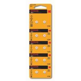 Kodak - Kodak Max Alkaline AG3 SR41W/392 1.5V knoopcel batterij - Knoopcellen - BS379-CB www.NedRo.nl
