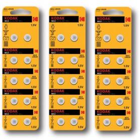 Kodak - Kodak Max Alkaline AG4 SR66W/377 1.5V knoopcel batterij - Knoopcellen - BS380-CB www.NedRo.nl
