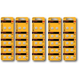 Kodak - Kodak Max Alkaline AG4 SR66W/377 1.5V Watch Battery - Button cells - BS380-CB www.NedRo.us