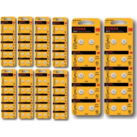 Kodak - Kodak AG13/LR44/76A/V13GA/A76 1.5v Alkaline button cell battery - Button cells - BS382-CB