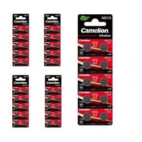 Camelion - Camelion AG13/LR44/76A/V13GA/A76 1.5v Alkaline button cell battery - Button cells - BS385-CB www.NedRo.us