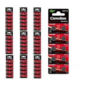 Camelion - Camelion AG13/LR44/76A/V13GA/A76 1.5v Alkaline knoopcel batterij - Knoopcellen - BS385-CB www.NedRo.nl