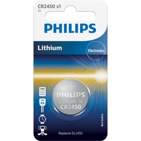 Philips CR2450 3v lithium knoopcelbatterij