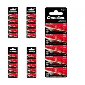 Camelion - Camelion AG1 LR60 SR60 /364 1.5V Watch Battery - Button cells - BS386-CB www.NedRo.us