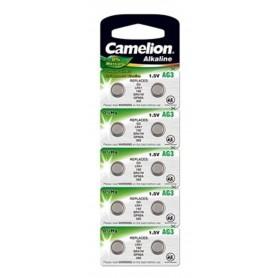 Camelion, Camelion Alkaline AG3 LR41 G3 SR41W 392 1.5V knoopcel batterij, Knoopcellen, BS387-CB, EtronixCenter.com