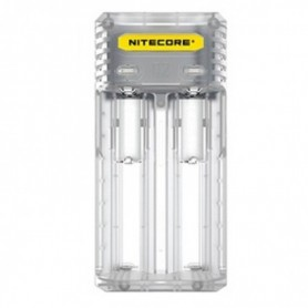 NITECORE, NITECORE Q2 2-Bay 2A Quick Battery Charger for Li-ion IMR, Battery chargers, MF005-CB, EtronixCenter.com