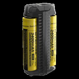 NITECORE, Nitecore F2 USB 2in1 Dual oplader en powerbank, Batterijladers, MF006, EtronixCenter.com