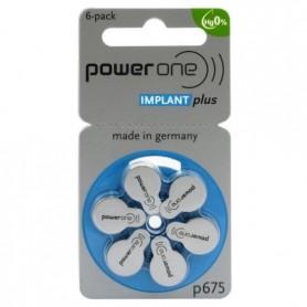 Varta - Power One 675 IMPLANT Plus Gehoorapparaat batterijen - Knoopcellen - NK396-CB www.NedRo.nl