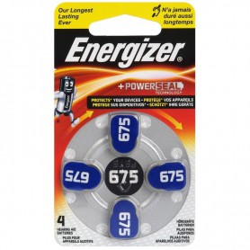 Energizer - Energizer 675 Hearing Aid Battery 1.4V - Button cells - BL286-CB www.NedRo.us