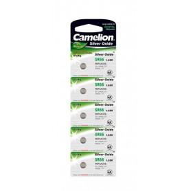 Camelion - Camelion Silver Oxide SR66W/377 1.55V Watch Battery - Button cells - BS196-CB