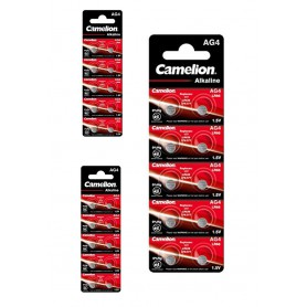Camelion - Camelion G4 / AG4 / L626 / SR626 / 377 / 37 1.5V Alkaline button cell battery - Button cells - BS388-CB