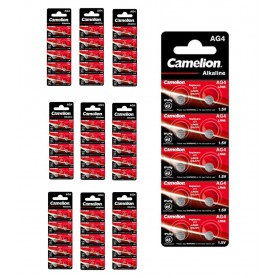 Camelion - Camelion G4 / AG4 / L626 / SR626 / 377 / 37 1.5V Alkaline horloge knoopcel batterij - Knoopcellen - BS388-CB www.N...