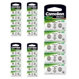 Camelion - Camelion Watch Battery 394 / 380 AG9 SR936SW 60mAh 1.55V - Button cells - BS389-CB