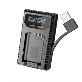 NITECORE, Nitecore dubbel USB lader voor Sony NP-BX1, Sony foto-video laders, MF013, EtronixCenter.com