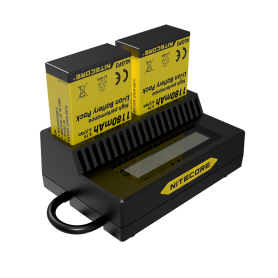 Nitecore UGP3 double USB charger for Hero3 and Hero3 +