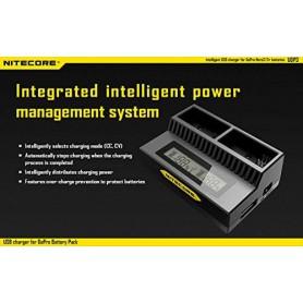 NITECORE - Încărcător dublu USB Nitecore UGP3 pentru Hero3 și Hero3+ - GoPro încărcătoare foto-video - MF018 www.NedRo.ro