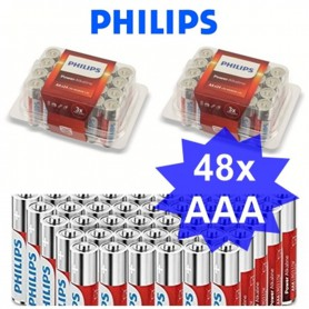 PHILIPS - 24-Pack - AAA R3 Philips Power Alkaline - AAA formaat - BS017-CB www.NedRo.nl