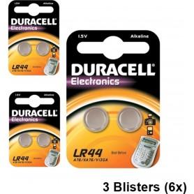 Duracell - Duracell G13 / LR44 / A76 knoopcel - Knoopcellen - NK271-CB www.NedRo.nl