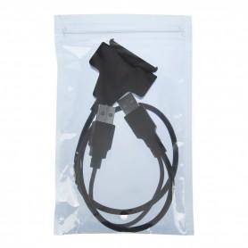 """Oem - USB 2.0 to SATA 7+15 Pin Adapter for 2.5"""" HDD Hard Disk Drive - SATA and ATA adapters - AL328"""
