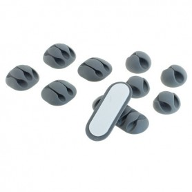 OTB - Adhesive cable holder (cable clips) 10 pieces - Various computer accessories - ON4999-CB www.NedRo.us