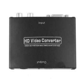 Oem - VGA to HDMI HD VGA R/L Audio Converter AL085 - VGA adapters - AL085