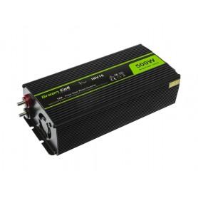 Green Cell, 1000W DC 12V naar AC 230V met USB Stroom Inverter Converter - Pure/Full Sine Wave, Zonnepanelen en Windturbines, ...