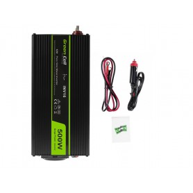 Green Cell - 1000W DC 12V to AC 230V with USB Current Inverter Converter - Pure/Full Sine Wave - Solar panels and wind turbin...