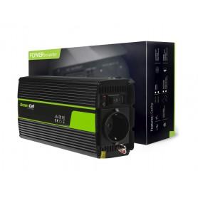 Green Cell, 1000W DC 12V naar AC 230V met USB Stroom Inverter Converter, Zonnepanelen en Windturbines, GC065, EtronixCenter.com