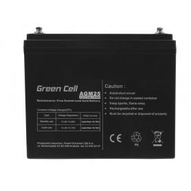 Green Cell - Green Cell 12V 75Ah VRLA AGM B4 Terminal - Baterii Plumb-acid - GC059 www.NedRo.ro