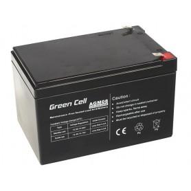 Green Cell 12V 14Ah (6.3mm) 14000mAh VRLA AGM Battery