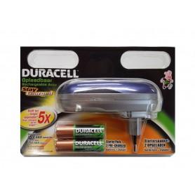 Duracell - Duracell Mini Lader inc. 2 x AA 2000 mAh batterijen - Batterijladers - BS392-CB www.NedRo.nl