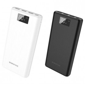 BOROFONE - BOROFONE Fullpower BT2D 30000mAh Power Bank 3x USB Output - Powerbanks - H100985-CB www.NedRo.us