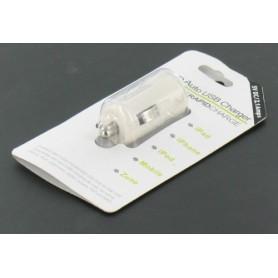NedRo, USB 2,1A Autolader Wit voor Smartphones en Tablets YAI475-1, Aanstekerplugs, YAI475-1, EtronixCenter.com