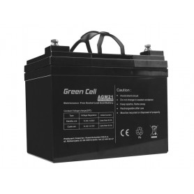 Green Cell - Green Cell 12V 33Ah VRLA AGM Battery with B3 Terminal - Battery Lead-acid - GC057