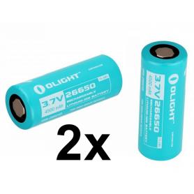 OLIGHT - Olight 26650 4500mAh oplaadbare batterij voor R50/R50PRO - Andere formaten - NK380-CB www.NedRo.nl