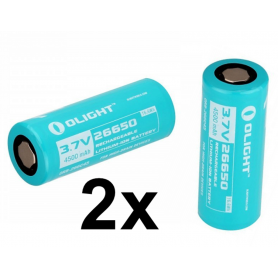OLIGHT - Olight 26650 Rechargeable battery for R50/R50PRO 4500mAh 3.7V - Other formats - NK380-CB www.NedRo.us