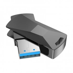 HOCO - Hoco Wisdom UD5 USB 3.0 Metal Memory Flash Disk Drive - SD and USB Memory - H100704-CB www.NedRo.us