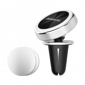 BOROFONE - BOROFONE BH6 metal magnetic in-car phone holder - Car magnetic phone holder - H044-CB