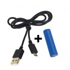 NedRo - Ventilator reglabil cu baterie și cablu de încărcare USB - Gadget-uri computer - TB011-CB www.NedRo.ro