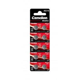 Camelion - Camelion AG10 G10 LR1130 LR54 1.5V knoopcel batterij - Knoopcellen - BS396-CB www.NedRo.nl
